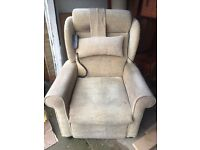 Electric rise and decline chair