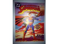 Superman canvas pic