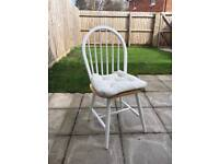 Six Dining Chairs white/pine