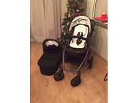 Uppababy Vista push chair and carry cot + free extras