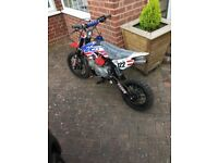 Stomp 125cc like new