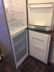 Silver Fridge freezer upright Bosch