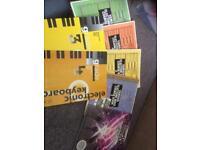 Keyboard books job lot