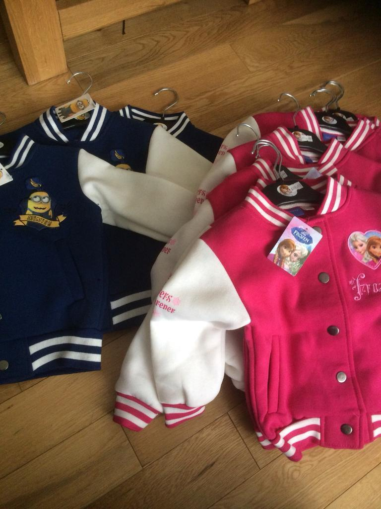 kids jackets minion/frozen