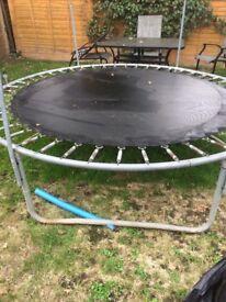 Free broken trampoline for scrap