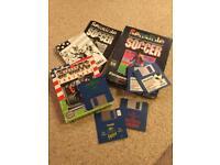Vintage Amiga Games Sensible Soccer, TV Sports Football and more