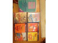 7 Children/ adolescent audio books (cassettes) including Harry potter