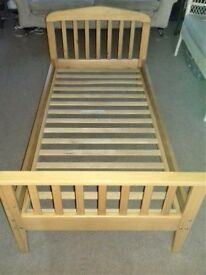 Mamas and Papas 'Lauren' junior bed / toddler bed. Sleeps up to age 7 yrs.