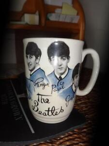 Genuine Original BEATLES Coffee Mug from early 1960S / Great gift idea! Rare Beatles fan Collectable Cup Ceramic