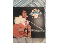 Elvis Presley's Greatest Hit Boxset Vinyl Records