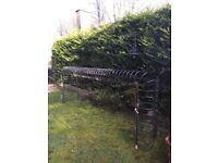 """Spanish Bow Exterior Balcony Railing ( 47""""x140"""")"""