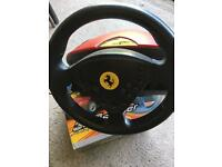 PlayStation 2 Ferrari Spider 360 Racing Wheel, Brand New
