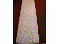 Slim mattress in mint condition, never used. Useful for caravan, guest, child, etc