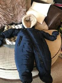 Boys 6-9 snowsuit