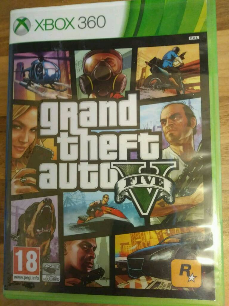 gta 5 for xbox 360 for sale