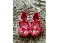 Mini Melissa fox shoes