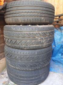 Four Tyres 195/45/R15