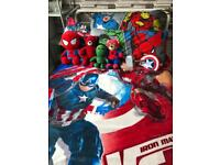 Marvel avengers bedroom bundle