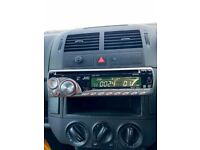 GENUINE JVC RADIO KD-G343 AUX CAR STEREO HEAD UNIT DISC CD PLAYER SILVER FREE DELIVERY