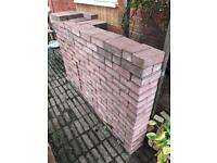 Block Paving 500 Red Brindle