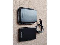Samsung S2 Portable 1TB Black drive + WD My Passport 512GB White drive