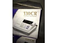 casio 130 CR electronic shop cash register- more than 1 available- used. good condition.