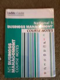 Leckie Leckie National 5 Business Management Course Notes