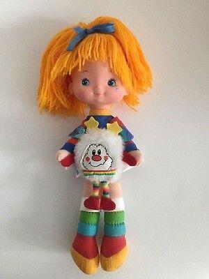 Vintage Rainbow Brite Doll with Tink White Sprite 1983 Mattel Hallmark - Ex Cond