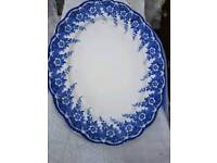 Matlock antique oval plate