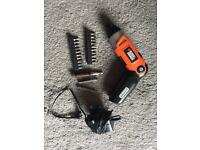 NEW Lithium battery Black and Decker screwdriver