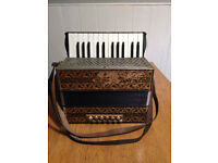 Hohner Accordion - A Beautiful Vintage Instrument with Original Case