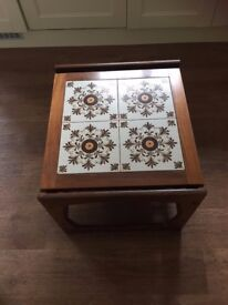70's retro magazine coffee table