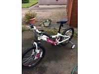 Girls Saracen Spice 20inch Bicycle
