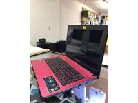 Asus X401A Red intel pentium 2.30ghz 4GB RAM 500gb HD 14 LED Windows 10 pro