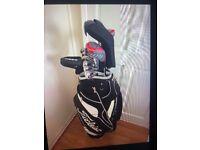 Full set golf clubs Ben Ross with bag titleist