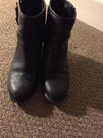 Nine West Buckle ankle boots