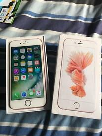 IPhone 6s rose gold EE