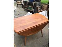 Seller Refurbished Ercol blonde drop leaf table