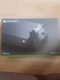 Xbox one x boxed