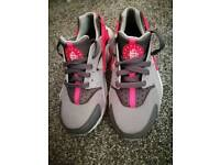 Girls pink and grey Huaraches