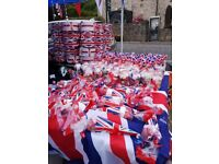 Union Jack drums