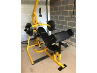 Bodymax Home Multigym Including 110Kg of Plate Weights