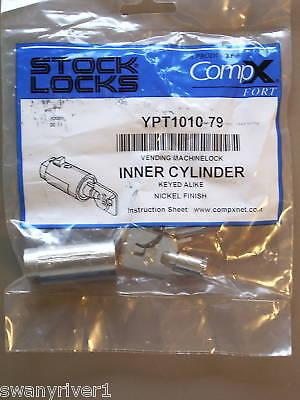 Compx T-handle Vending Machine Lock Ypt1010- New