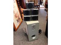 ALBA home cinema speaker system kit surround sound base music