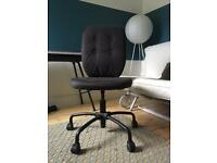 IKEA Swivel Spin Chair Grey Black