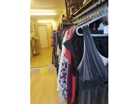 Job lot of ladies clothes, new and vintage designer and branded clothes.