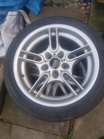BMW 8jx17 style 66 alloy wheel