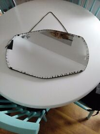 Antique style mirror new in box