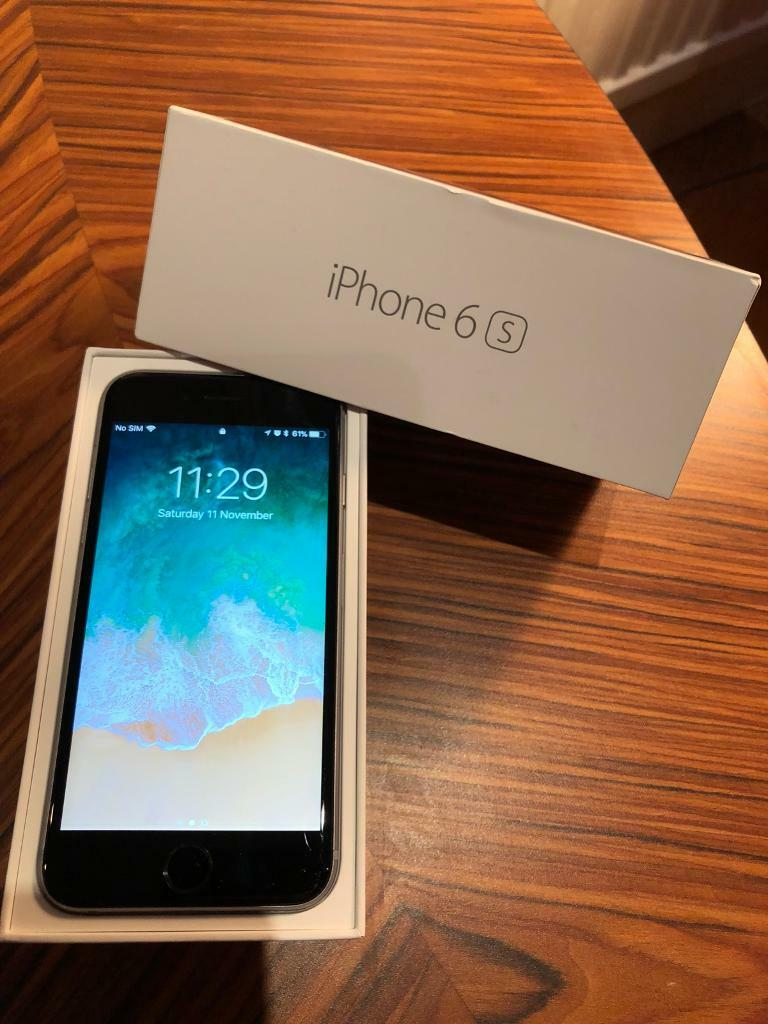 iPhone 6s - 16GB - Space Grey - Unlocked - Boxed