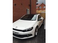 Volkswagen Scirocco 2.0 TSI GT DSG 3dr -Candy White-59k miles.
